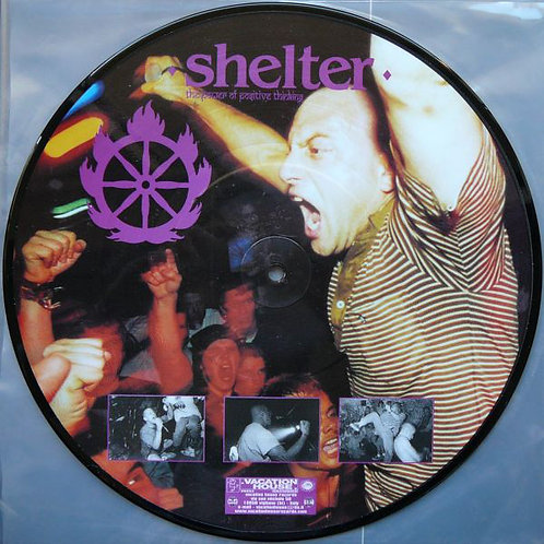 """SHELTER - The Power Of Positive Thinking 10"""" (Picture disc)"""