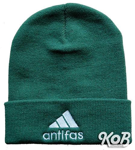 ANTIFAS Green Winter Cap