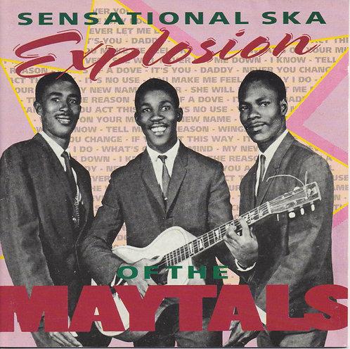 MAYTALS  (THE) - Sensational Ska Explosion CD