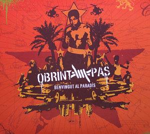 OBRINT PAS - Benvingut Al Paradís CD