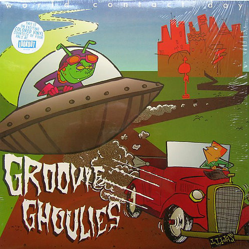 GROOVIE GHOULIES - World Contact Day LP (Colored)