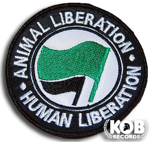 ANIMAL LIBERATION Patch / Toppa