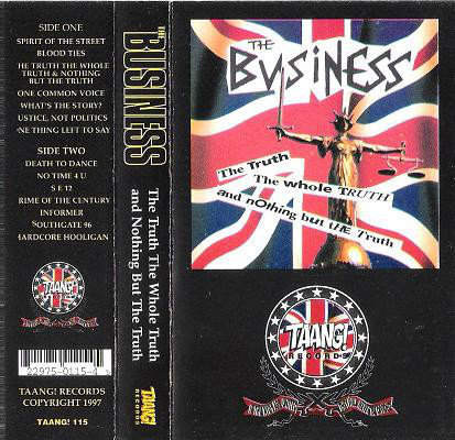 BUSINESS (THE) - The Truth The Whole Truth And Nothing But The Truth TAPE