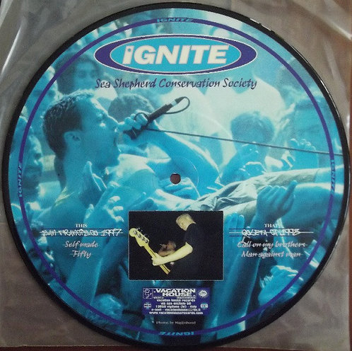 """IGNITE - Sea Shepherd Conservation Society 10"""" (Picture Disc)"""