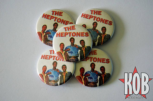 THE HEPTONES Button
