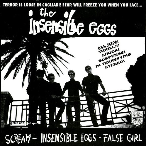 INSENSIBLE EGGS (THE) - Scream EP 7""