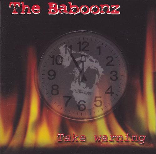 BABOONZ (THE) - Take Warning CD