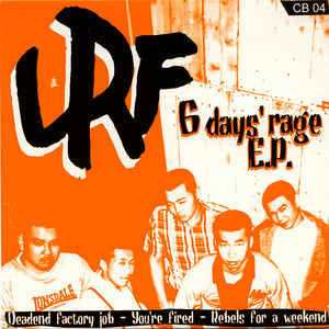 "LRF - 6 Days' Rage E.P. EP 7"" (Clear)"