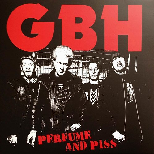 G.B.H. - Perfume and piss LP