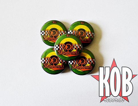 TROJAN SKINHEADS Button