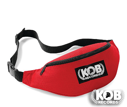 Belt Bag / Marsupio KOB RECORDS Red
