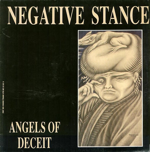 NEGATIVE STANCE - Angels Of Deceit LP (Blue)