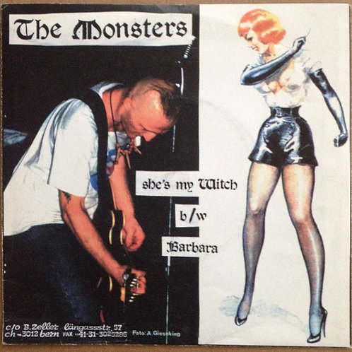MONSTERS (THE) / LIGHTNING -The Monsters / Lightning Beat-Man The One Man Band