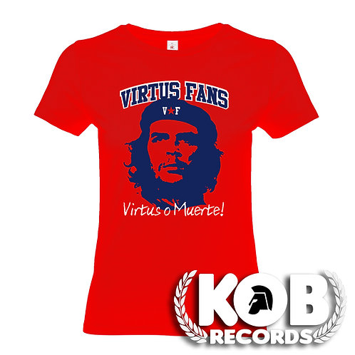 VIRTUS FANS Virtus o Muerte! Red T-Girl