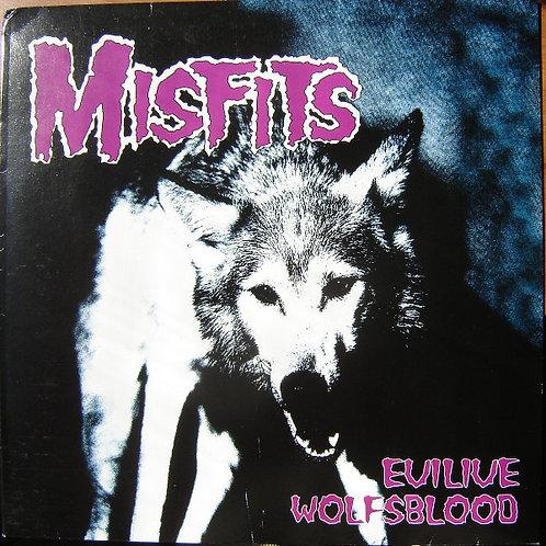 MISFITS - Evilive Wolfsblood LP
