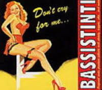 BASSISTINTI - Don't Cry for me... CD