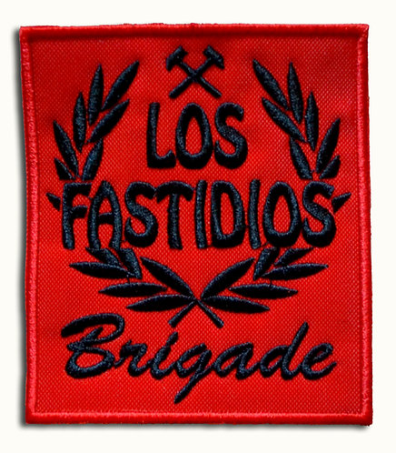 LOS FASTIDIOS BRIGADE Red/Black - Patch / Toppa
