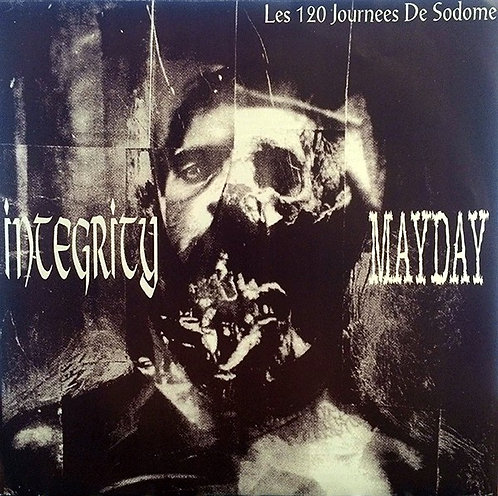 """INTEGRITY / MAYDAY - Les 120 Journees De Sodome EP 7"""" (Yellow)"""