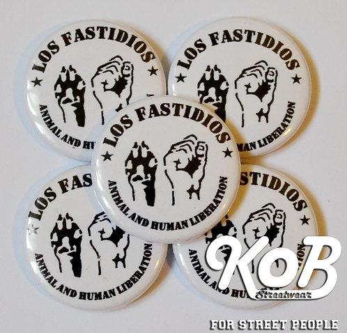 LOS FASTIDIOS Animal Liberation Button