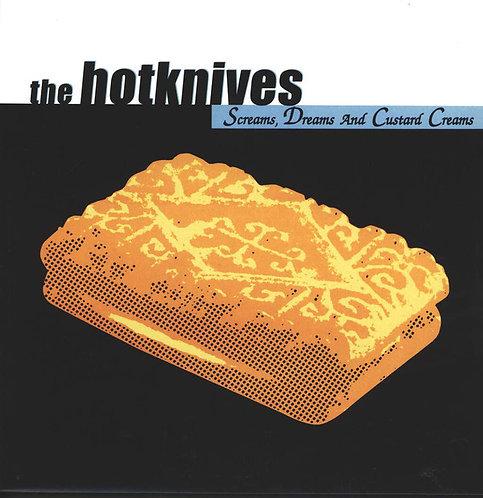 HOTKNIVES (THE) - Screams, Dreams And Custard Creams LP (Blue)