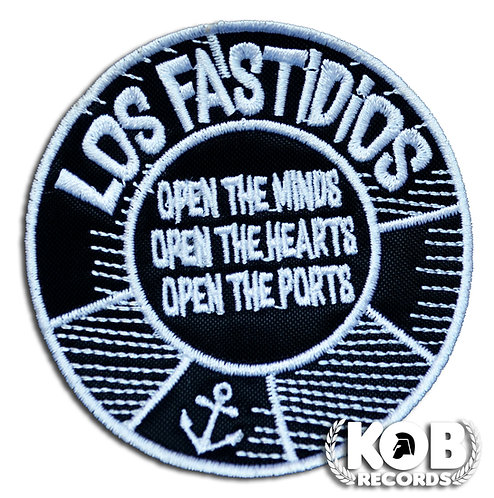 LOS FASTIDIOS OPEN THE PORTS Patch / Toppa