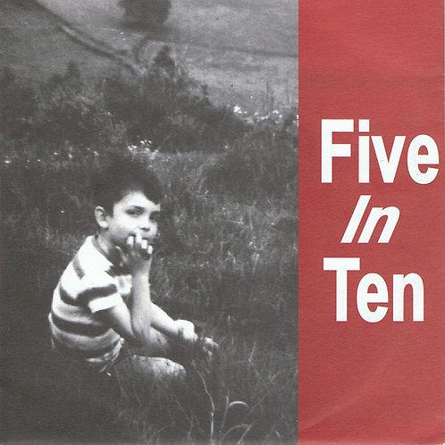"""FIVE IN TEN - Open Door EP 7"""""""