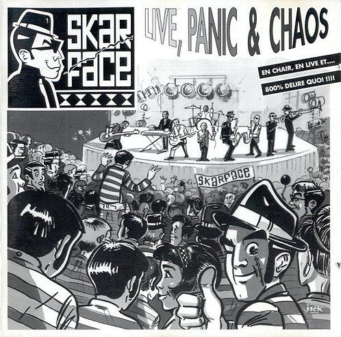 SKARFACE - Live, Panic & Chaos CD