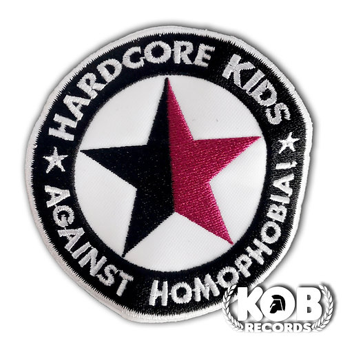 HARDCORE KIDS AGAINST HOMOPHOBIA Patch / Toppa