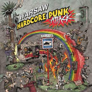 V/A Warsaw Hardcore Punk Attack Vol.3 LP+CD