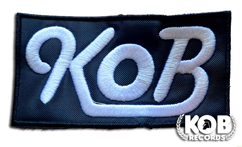 KOB RECORDS Patch / Toppa