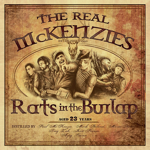REAL MCKENZIES (THE) - Rats in the Burlap CD