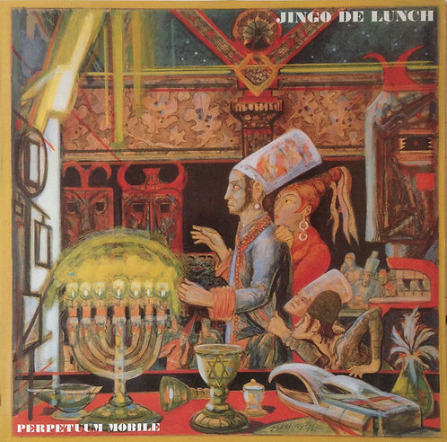 JINGO THE LUNCH - Perpetuum Mobile LP
