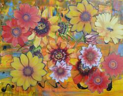 Flowers, Mixed Media