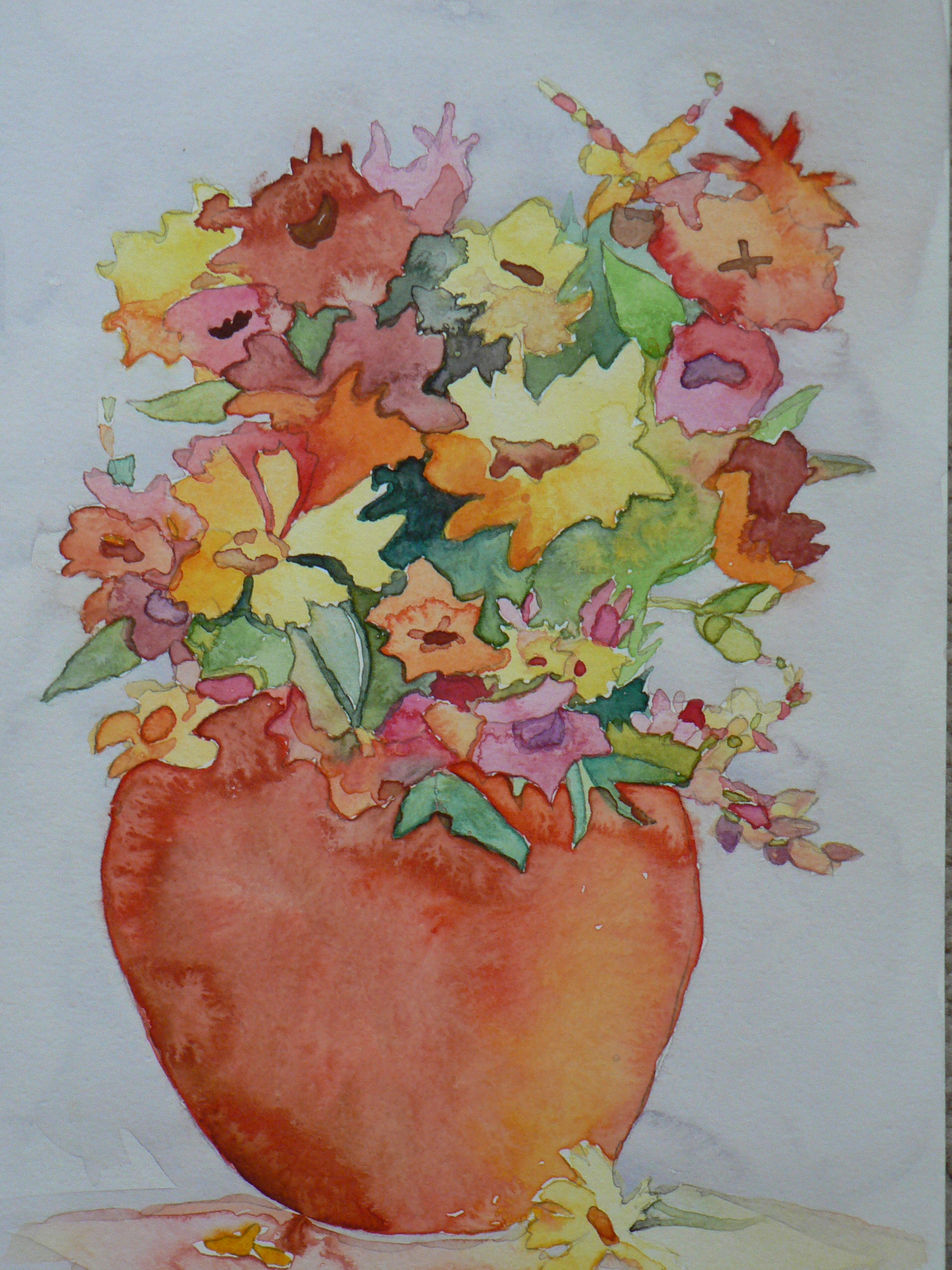 Fall Colors, Watercolor
