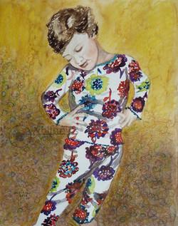 Pajama Pose