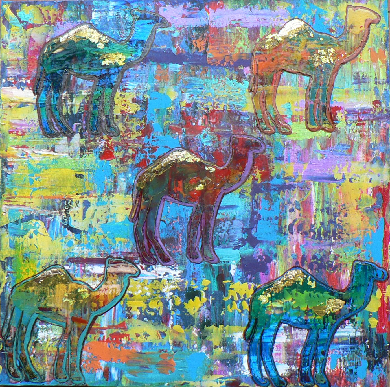 Camel Colors, Acrylic