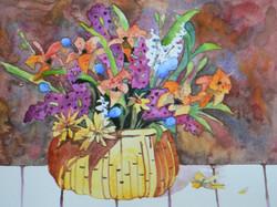 Bouquet, Watercolor