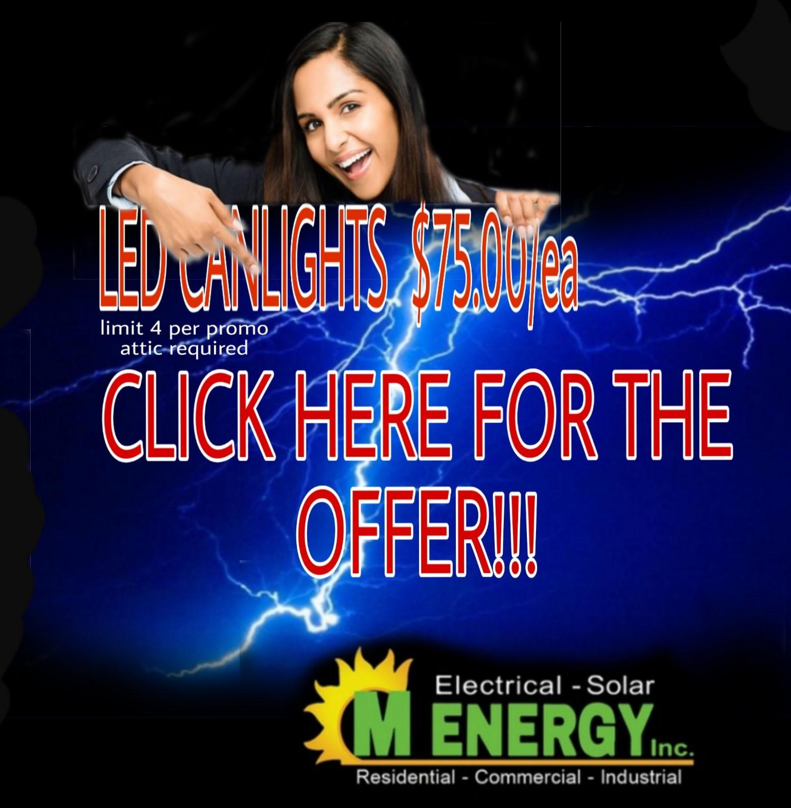 LED Can Lights