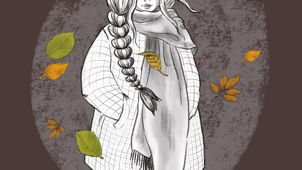 Autumn Breeze (print)