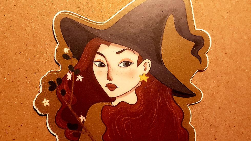Autumn Witch (sticker)