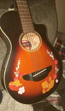 70's Retro Acoustic Guitar