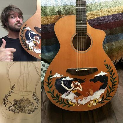 Freya Acoustic Guitar