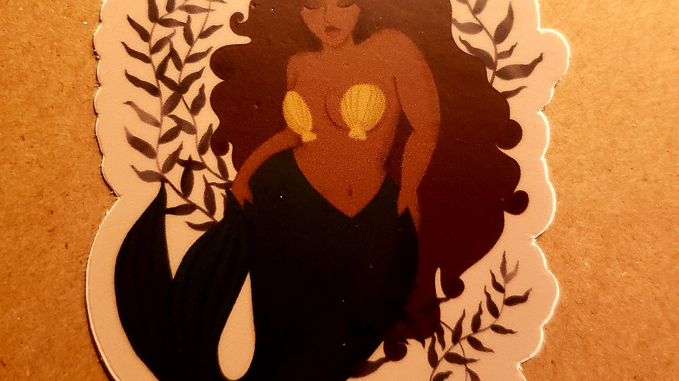 Island Mermaid (sticker)