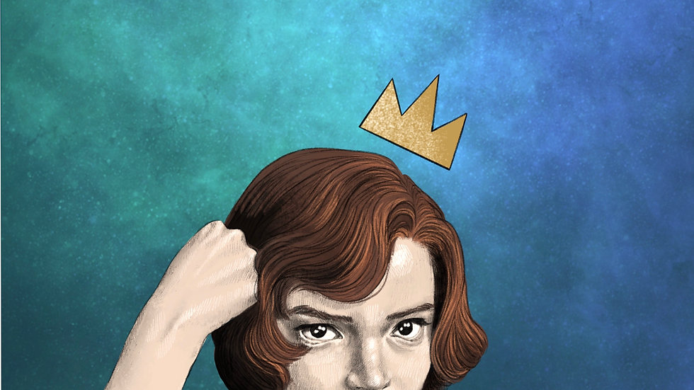Queen's Gambit (print)