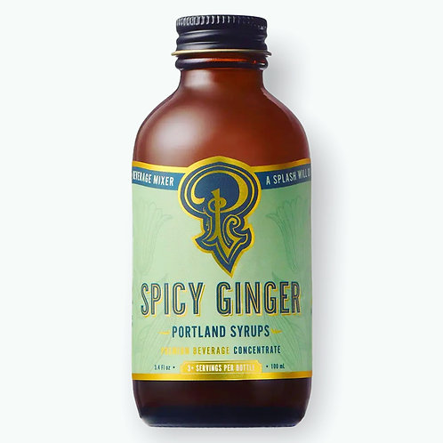 Spicy Ginger Premium Beverage Concentrate