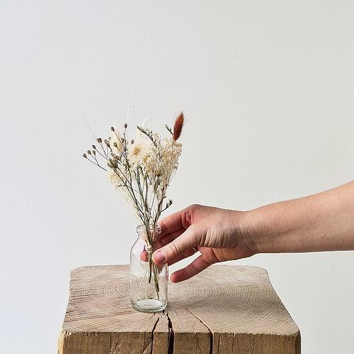 Le trio de mini bouquets pastels + vases
