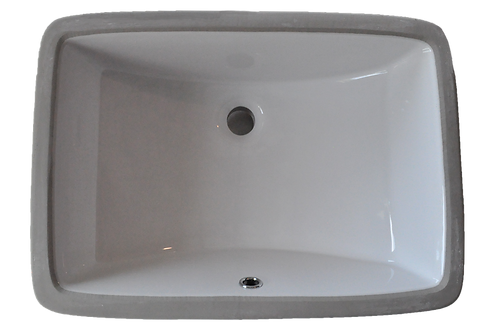 Rectangle Porcelain Vanity Undermount