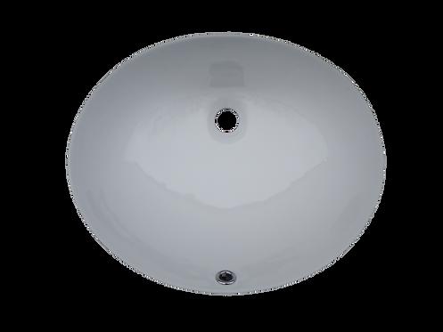 Oval Porcelain Undermount