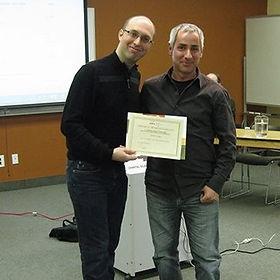 Simon Gauvin et José Doré, Conseil de quartier Saint-Roch, 30 avril 2015
