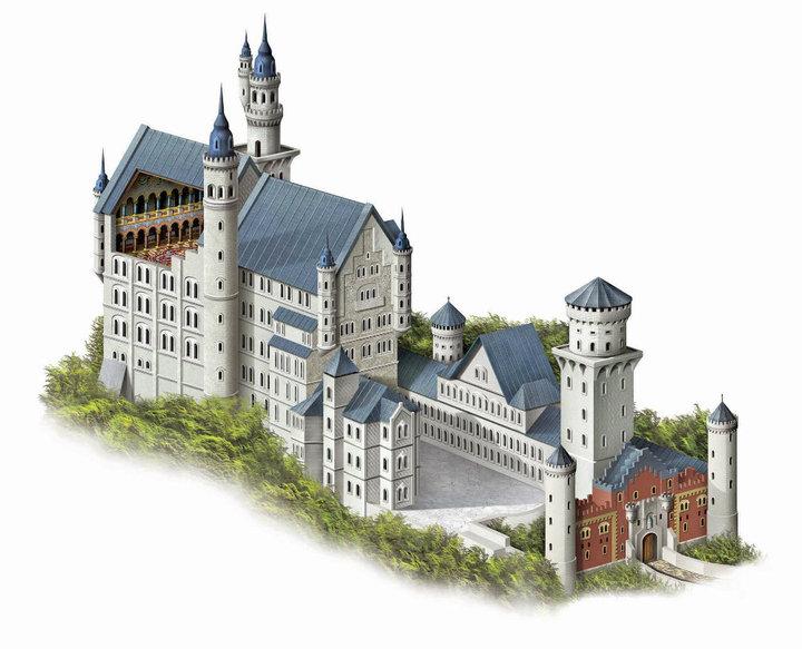Castelo+Neuschwanstein